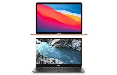 M1 Apple MacBook Air vs. Dell XPS 13