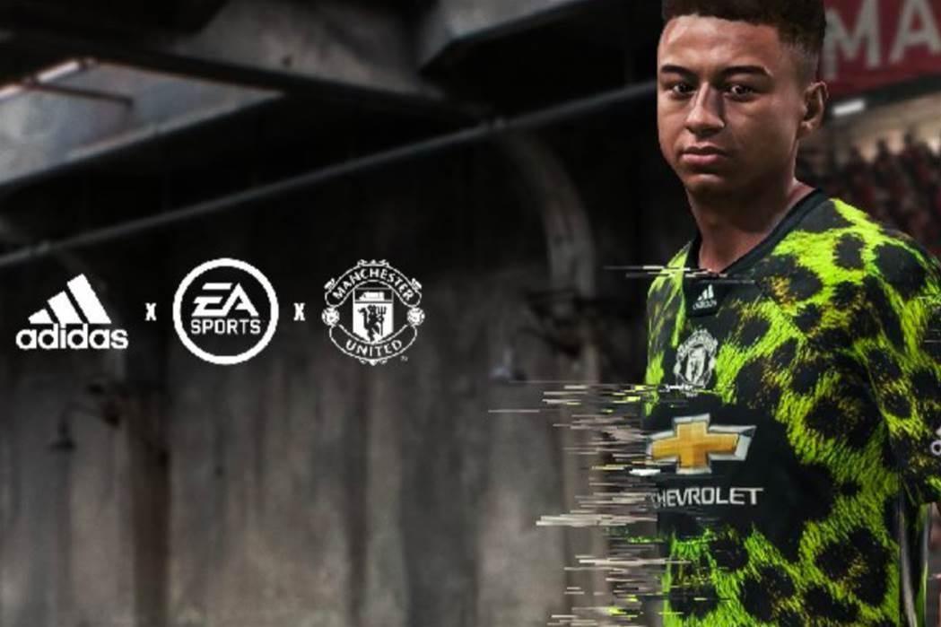 Manchester United release digital fourth kit