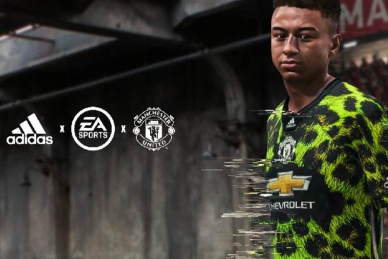 Manchester United release digital fourth kit