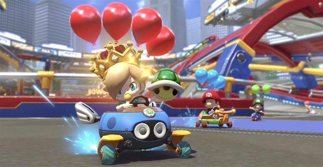 Game Ninja: Mario Kart 8 Deluxe