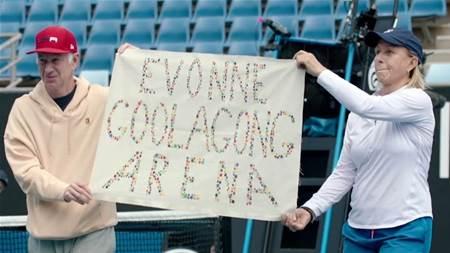 Should Margaret Court Arena be 'Evonne Goolagong Arena'?