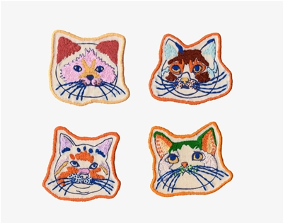 masae wada's cat patches