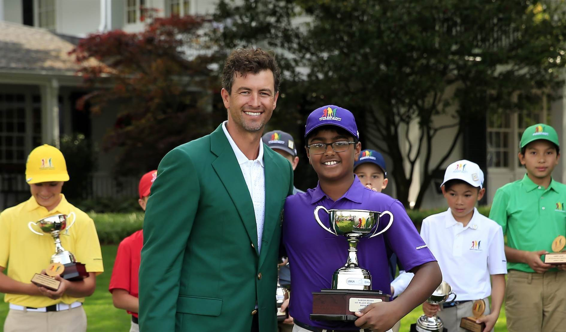Family focused Scott at peace at Augusta