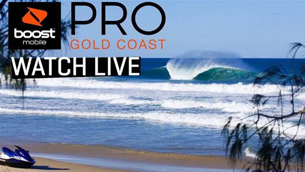 Live: The Boost Mobile Pro Is On at South Straddie