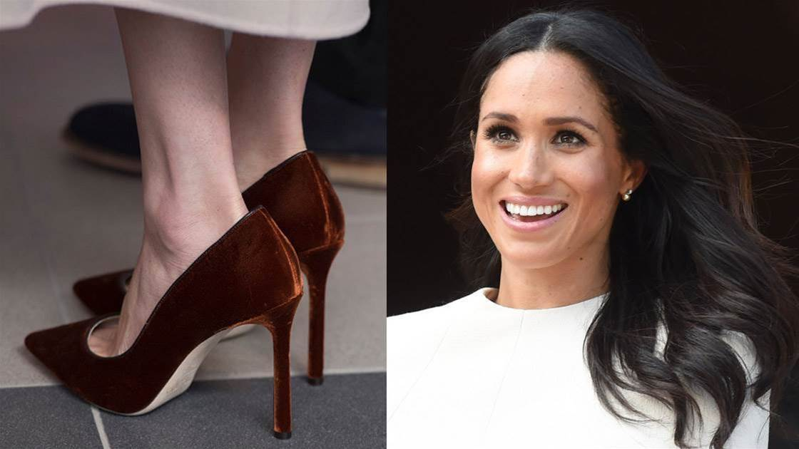 Why Meghan Markle Always Wears Shoes That Are Too Big For Her