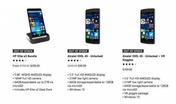 Microsoft has no more Windows Phones left to sell