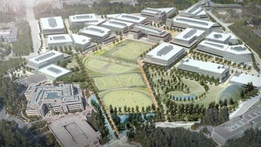 Microsoft begins anew with a multi-billion-dollar renovation of its Redmond campus
