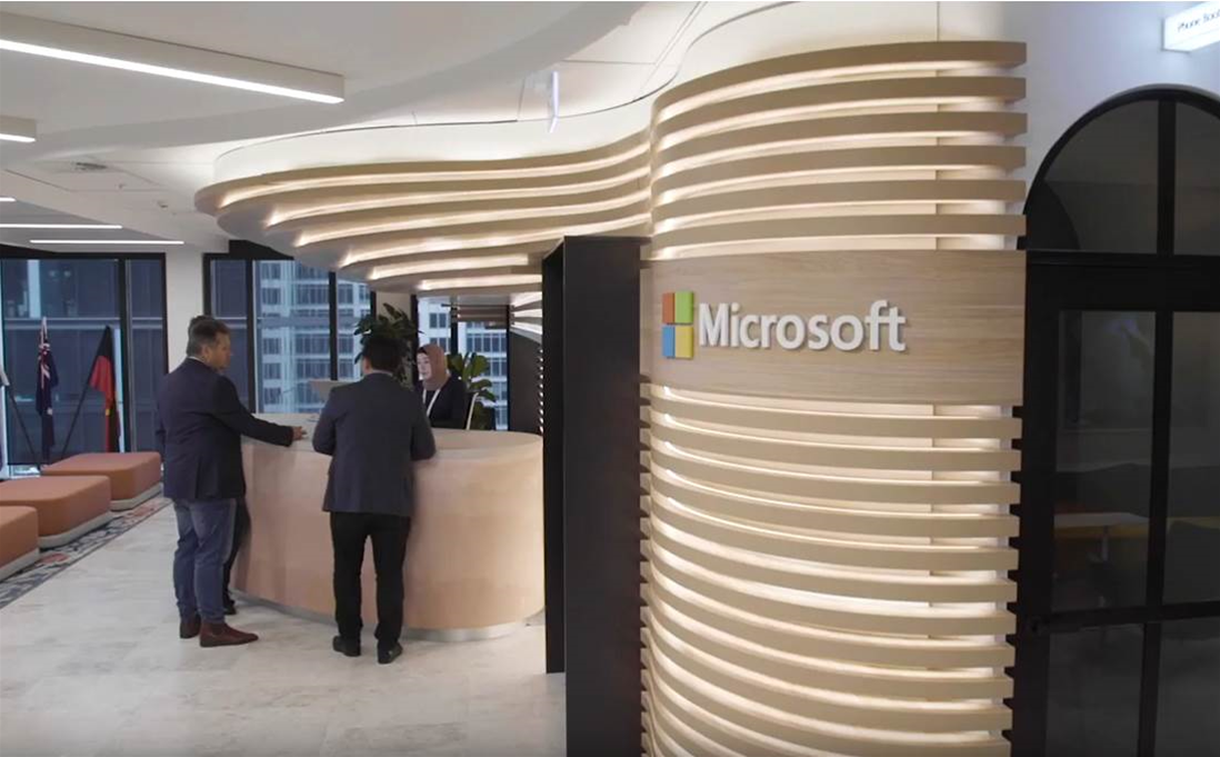 Microsoft opens doors to Sydney technology centre