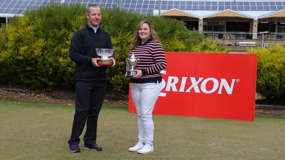 Campbell, McDonald claim Srixon NSW Mid-Am titles