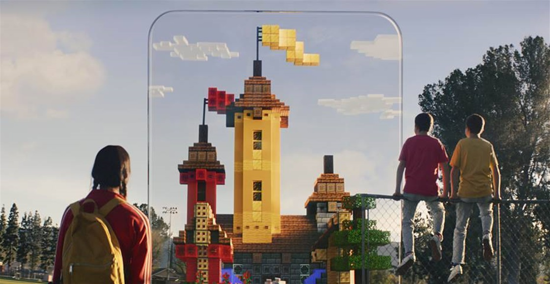 Build In The Real World With Minecraft Earth