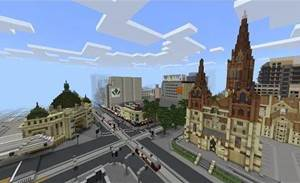 Why Victoria built a Mini Melbourne in Minecraft