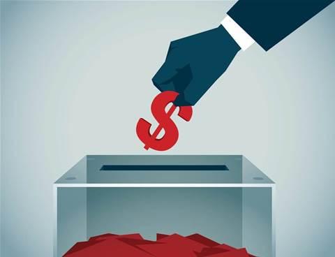 Tech companies go easy on political donations