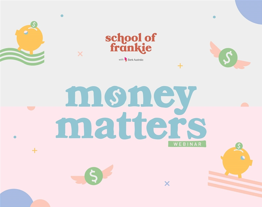 come to our money matters webinar