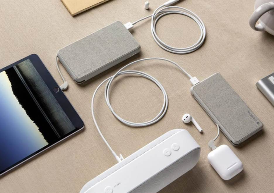 Mophie's latest battery packs charge your Apple devices with a Lightning cable