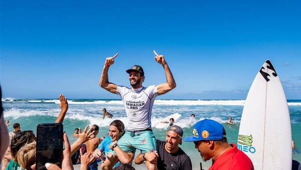 Frederico Morais wins Hawaiian Pro