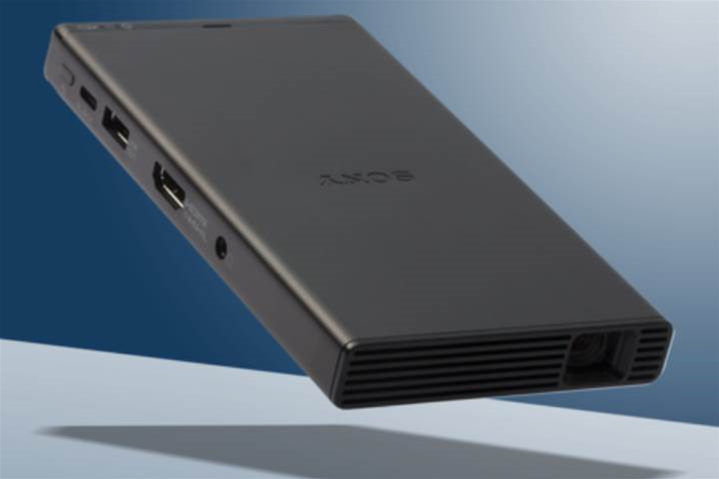 Sony's MP-CD1 projector puts a 120in display in your pocket