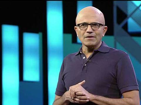 Microsoft boss Nadella trumpets cloud tie-up with Reliance