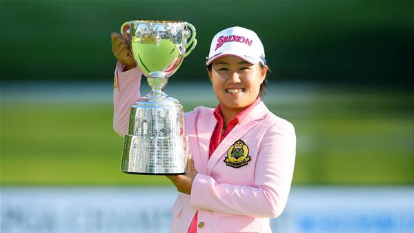 Hataoka storms to LPGA Championship Konica Minolta Cup win