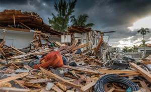 Drones to check for signs of life in disaster recovery