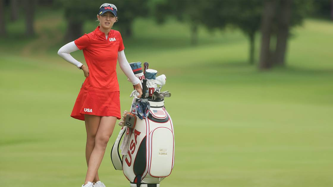 Gold Medal Bag: Nelly Korda – Women's Olympic Competition