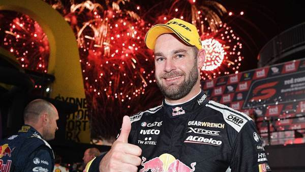 Van Gisbergen lights up in Supercars night clash