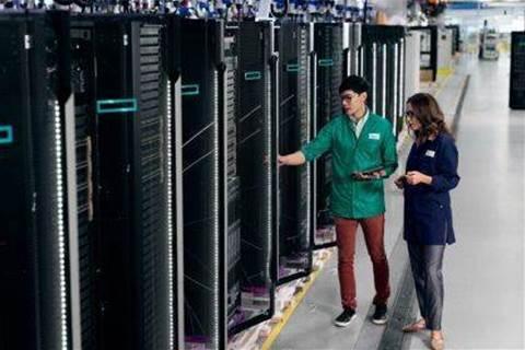 Hewlett Packard Enterprise revenue misses estimates, shares fall