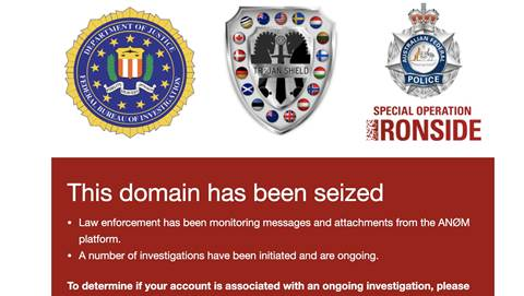 AFP and FBI sting used encrypted app to intercept crims' comms