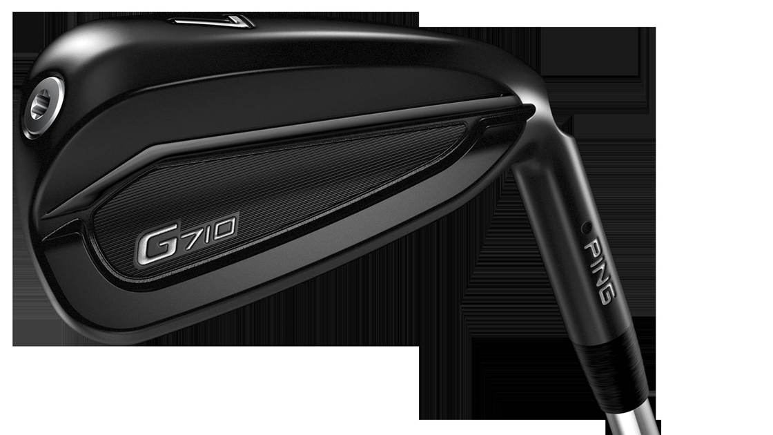 Ping launches sleek new G710 irons with smart grips