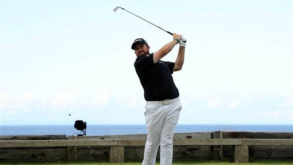 Shane Lowry takes commanding lead at Royal Portrush