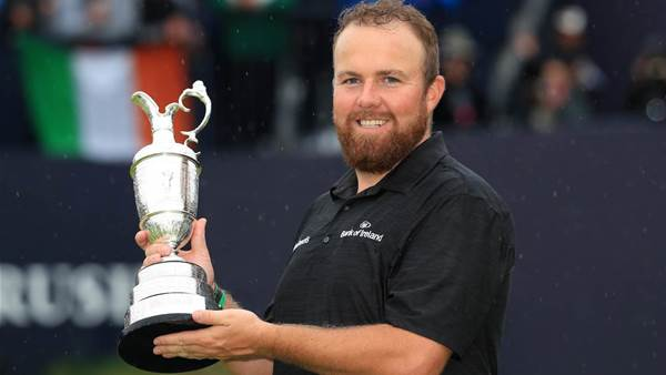 Irish eyes smiling as Lowry claims the Claret Jug