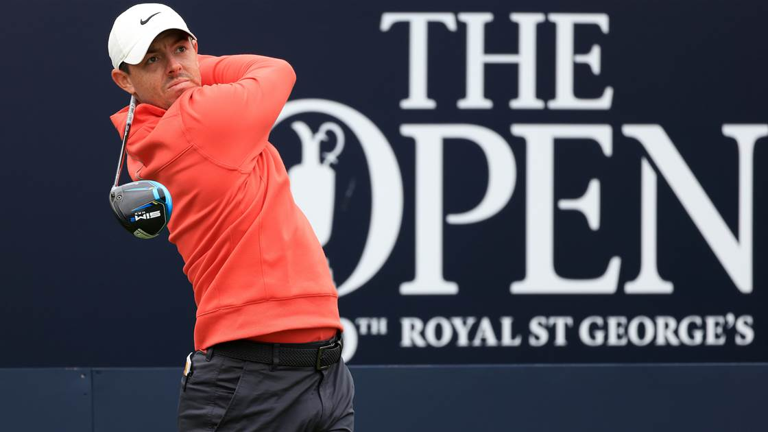 The Open: First and second round tee times (AEST)