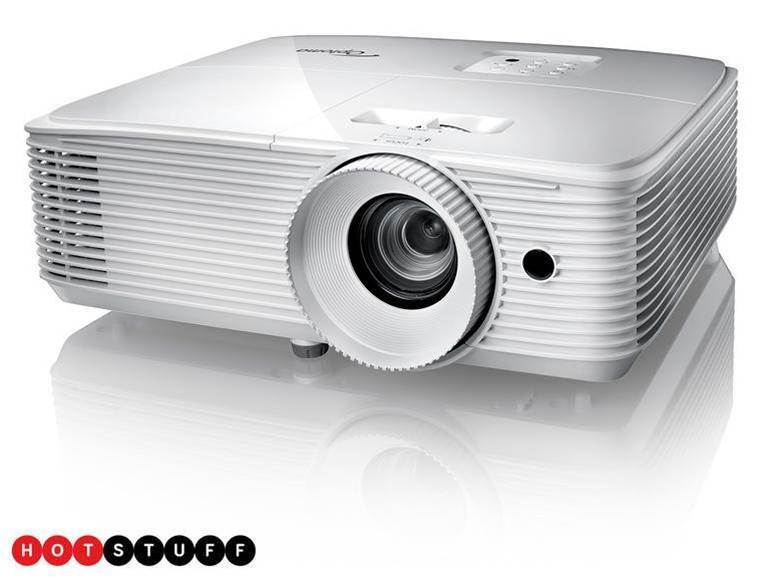 Bring the cinema to your living room with Optoma's affordable HD27e projector