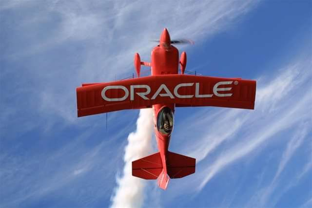 Oracle misses first-quarter estimates, shares fall