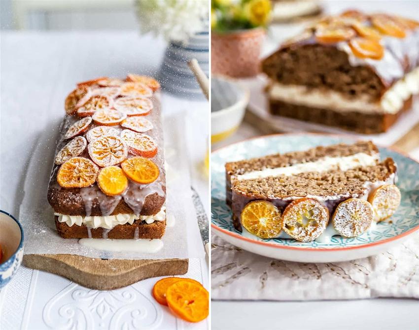 orange, yoghurt and olive oil cake