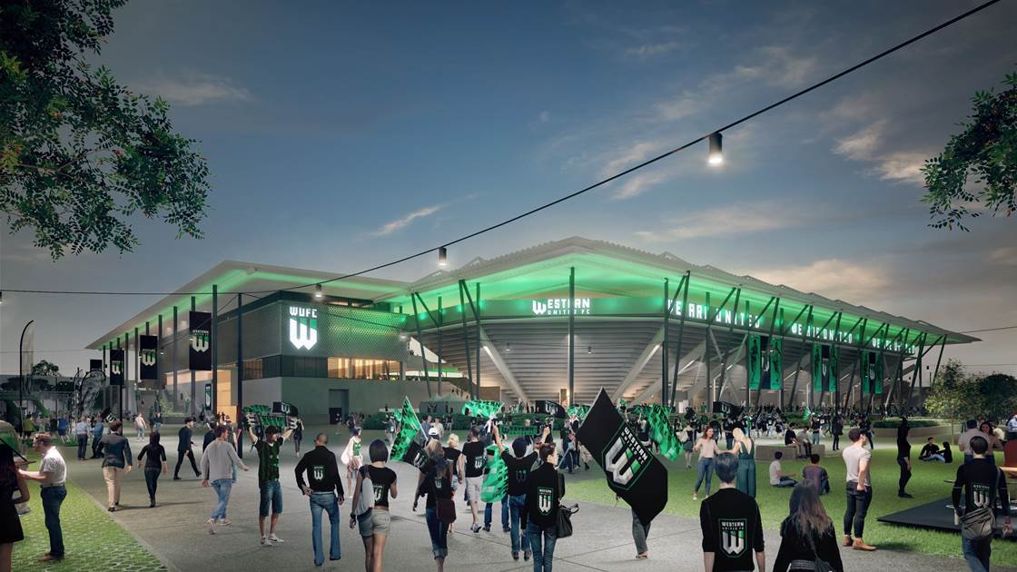Western United's A-League stadium to begin construction