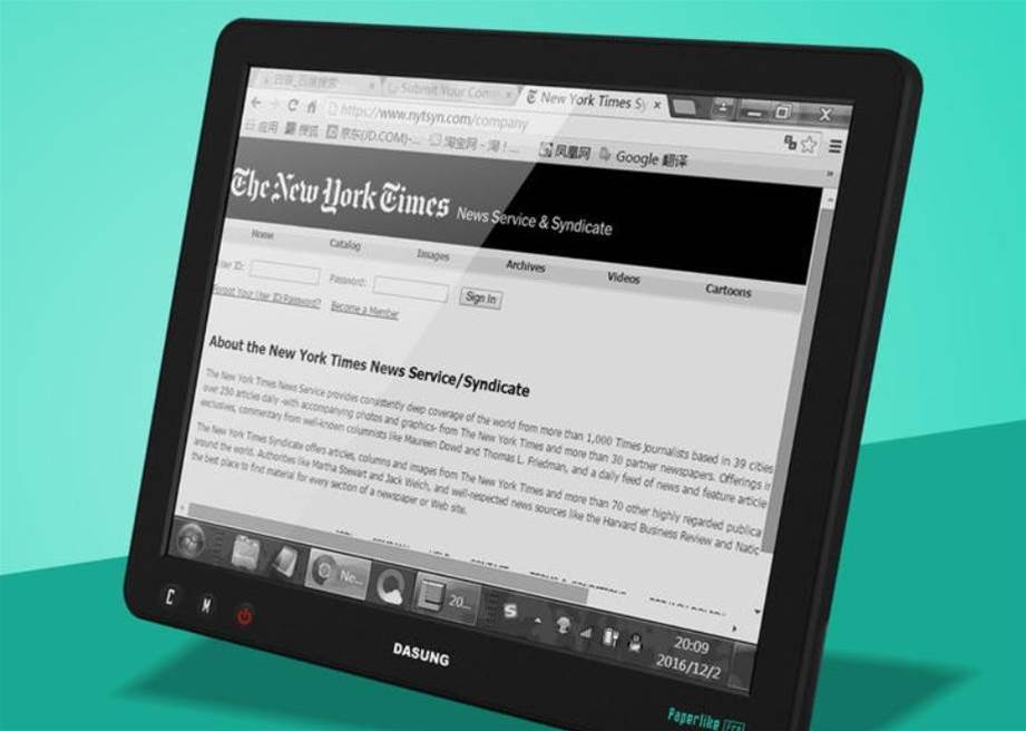 Dasung's Paperlike 3 is a high-res E-ink display for your PC or iOS device that's, well, like paper