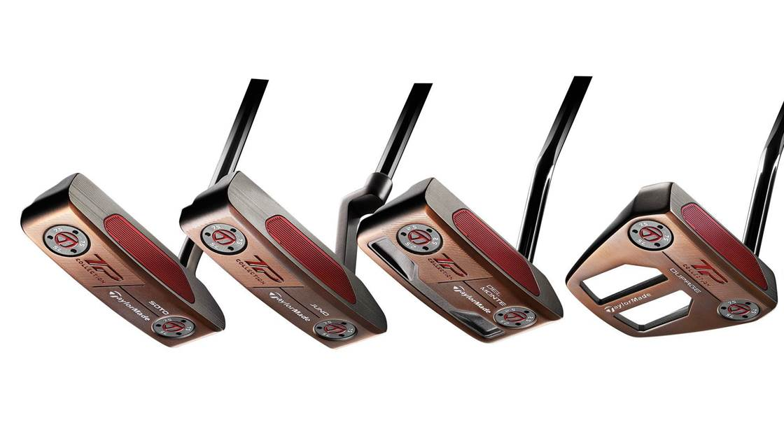 TaylorMade TP Patina putters blend old and new