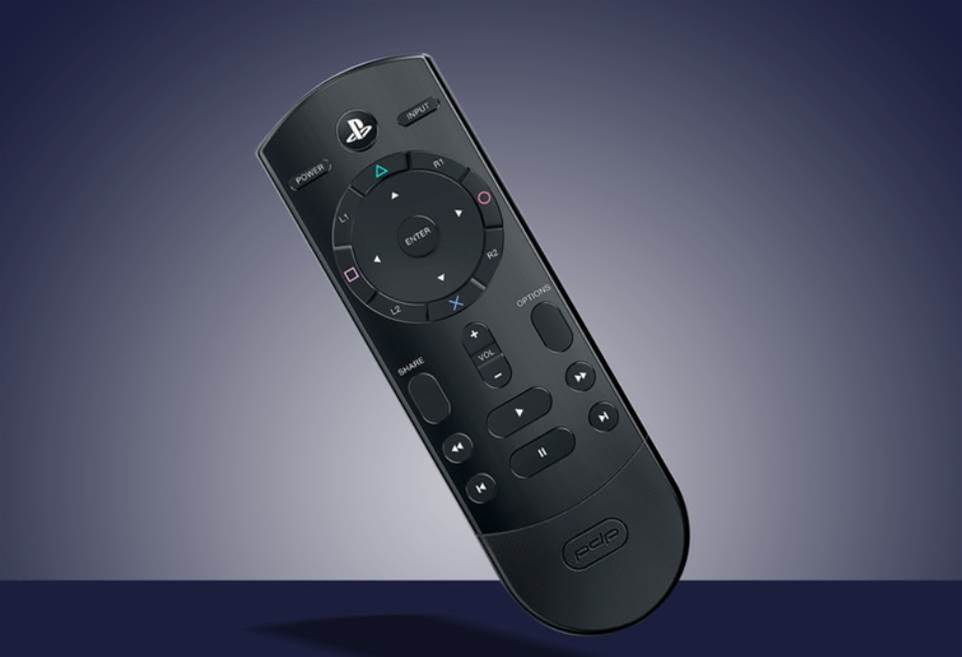 The PDP Cloud Remote controls your PS4 and TV