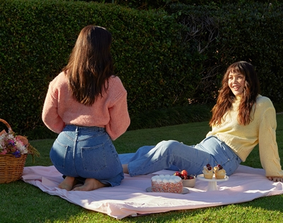 peachay jeans are made to fit small waists and bigger butts