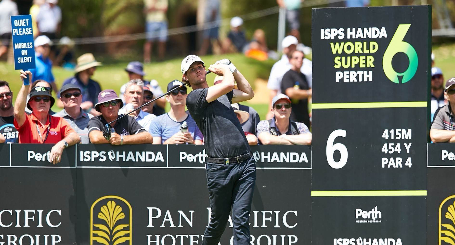 Pieters surges to share of Perth lead