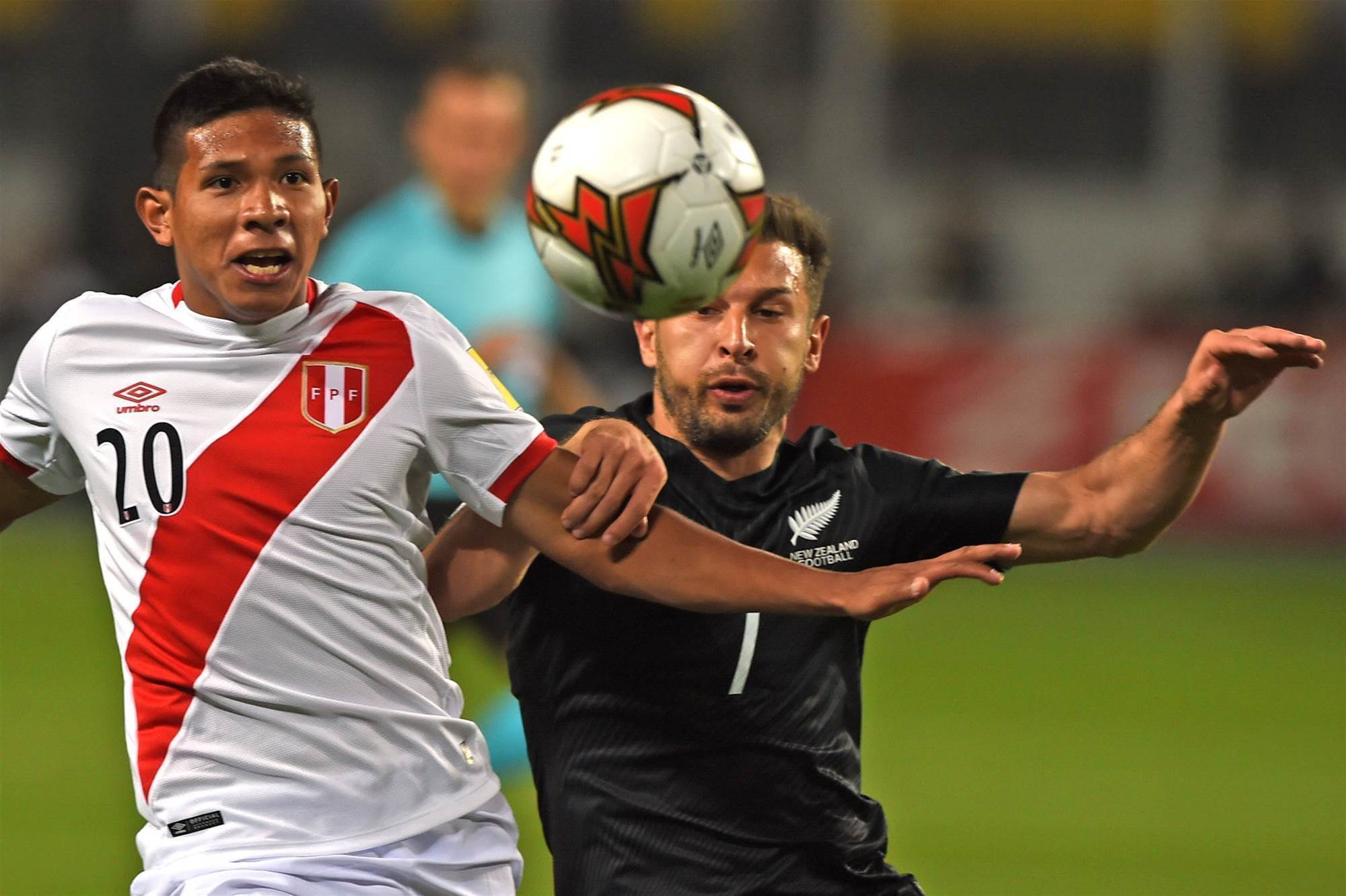 Peru fined for lasers on All Whites