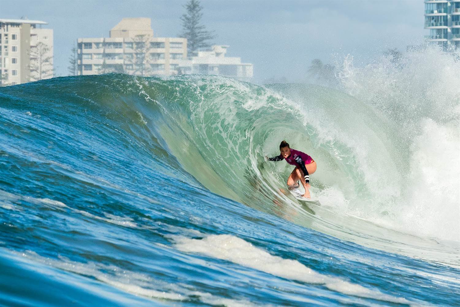 Early Warning Signs on the Women's WCT.