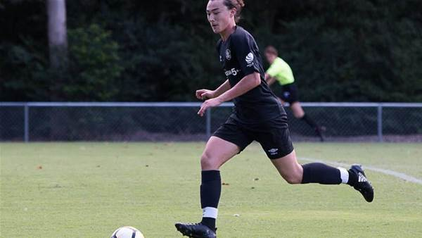Teen scores back to back hat-tricks in two games on his senior debut day