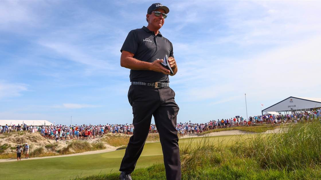 Mickelson on the verge of PGA immortality