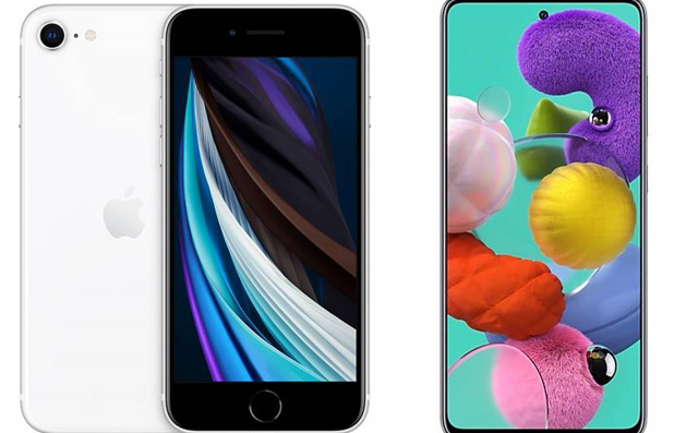 Apple iPhone SE vs. Samsung Galaxy A51