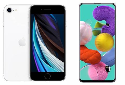 Apple iPhone SE vs. Samsung Galaxy A51