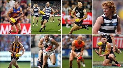 The top 40 all-time AFL draft picks