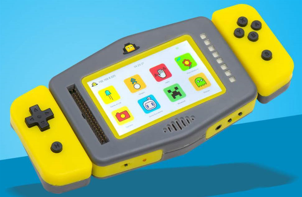 Pip is a Pi-powered handheld console that wants to bring coding to the masses