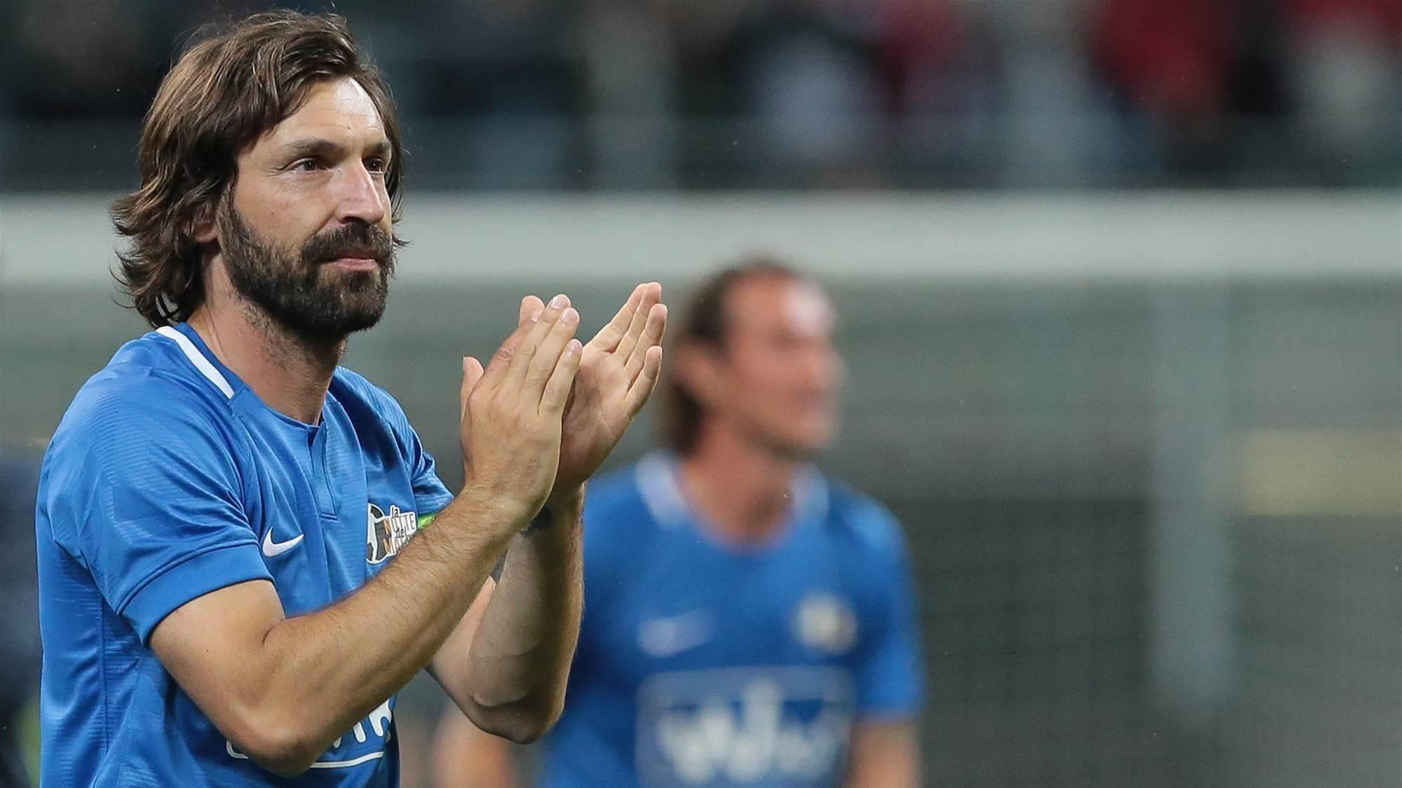 Pirlo's praise for the Australian game