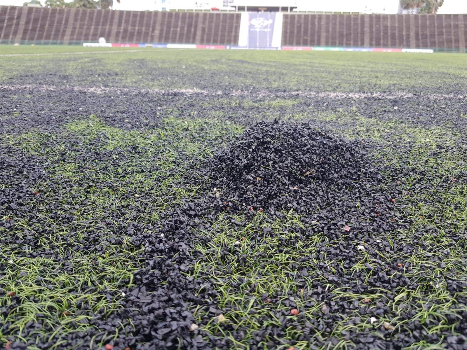 Will this pitch wreck our Olyroos' dreams?